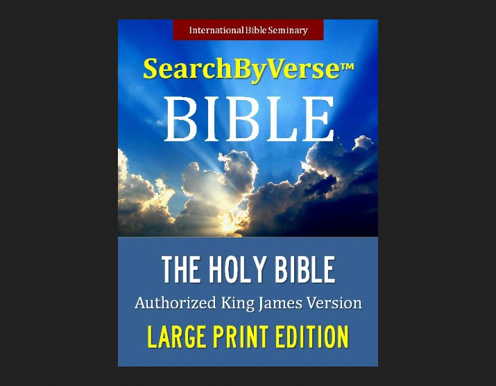 Search By Verse Holy Bible
