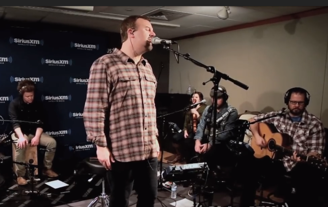 Casting Crowns perform LIVE at The Message SiriusXM