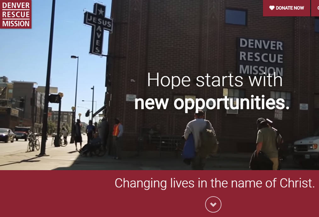 Denver Rescue Mission - Denver Colorado - Changing Lives in the Name of Christ