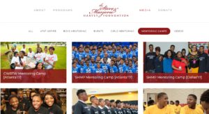 Steve and Marjorie Harvey Foundation | Youth Outreach Services and Mentoring Programs