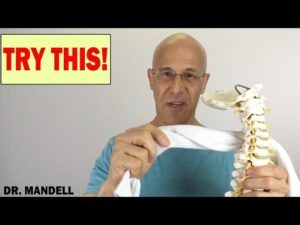 GET RID OF A STIFF NECK WITH A SOCK – Dr Alan Mandell, DC