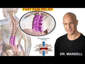 LOWER BACK SITTING DECOMPRESSION TECHNIQUE  –  (Discovered by Dr Alan Mandell, DC)