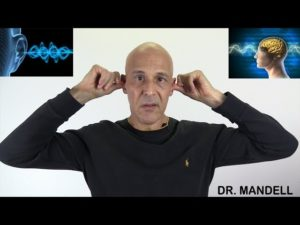 STOP TINNITUS:  HOW TO QUIET YOUR BRAIN WITH YOUR OWN HANDS  –  (Discovered by Dr Alan Mandell, DC)