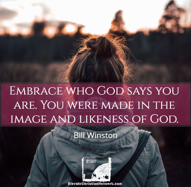 Bill Winston Quote - Image of God